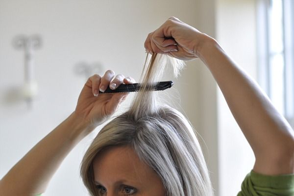 How to tease hair... correctly! Interesting.