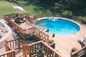 17 Best Ideas About Above Ground Pool Cost On Pinterest