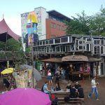 Hippe steder under åben himmel i Berlin