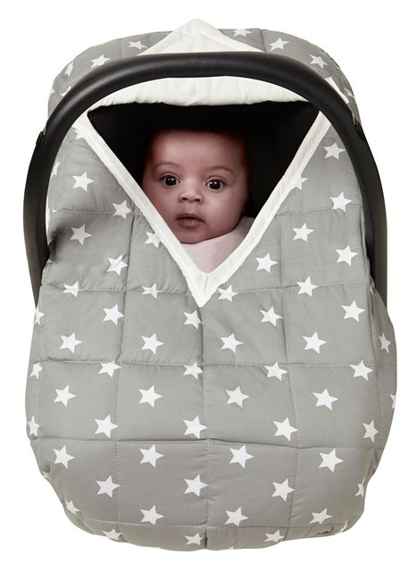 Sit Tight in our Cosy Car Seat Cover , keeping baby warm and safe