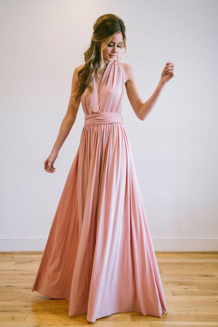 The 25 best wrap bridesmaids gowns ideas on pinterest purple eliza ethan multi wrap bridesmaids dress ombrellifo Choice Image