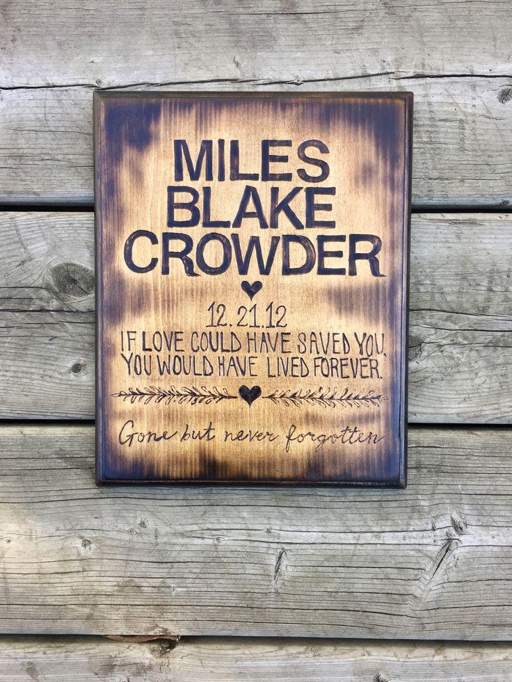 #Memorialplaque #memorial #sign #remember #custom #customsign #iflovecouldhavesavedyou #gonebutneverforgotten #woodburning #woodplaque #loveforever