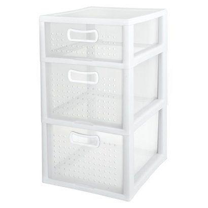 Plastic Storage Drawers Target