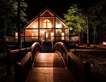 Morning Star Cabin-2 Bedroom,Accommodates Up To 6 Guest,WiFi, Hot Tub, Pet Friendly - Sundown Cabin Rentals