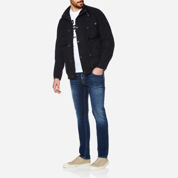 Get Barbour International Men's Smokey Jacket - Navy now at Coggles - the one stop shop for the sartorially minded shopper. Free UK & EU delivery when you spend £50.