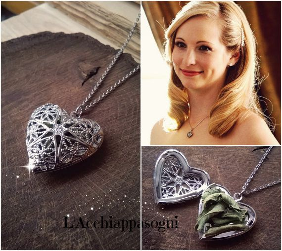 The Vampire Diaries Jewelry Caroline Forbes by LAcchiappasogni