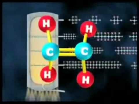 """Heterogeneous catalysis: cracking and reforming in petroleum refining (refining crude via fractional distillation - separating hydocarbon molecules under pressure and precise temperature for liquefaction  (after refining/purifying)  and rearranged to form gasoline via """"cracking"""" catalysts. At 260 diesel condenses out; 180 kerosene, 110, petrol, and petroleum at the top. Alkanes, alkynes and hydrocarbons are then refined further."""