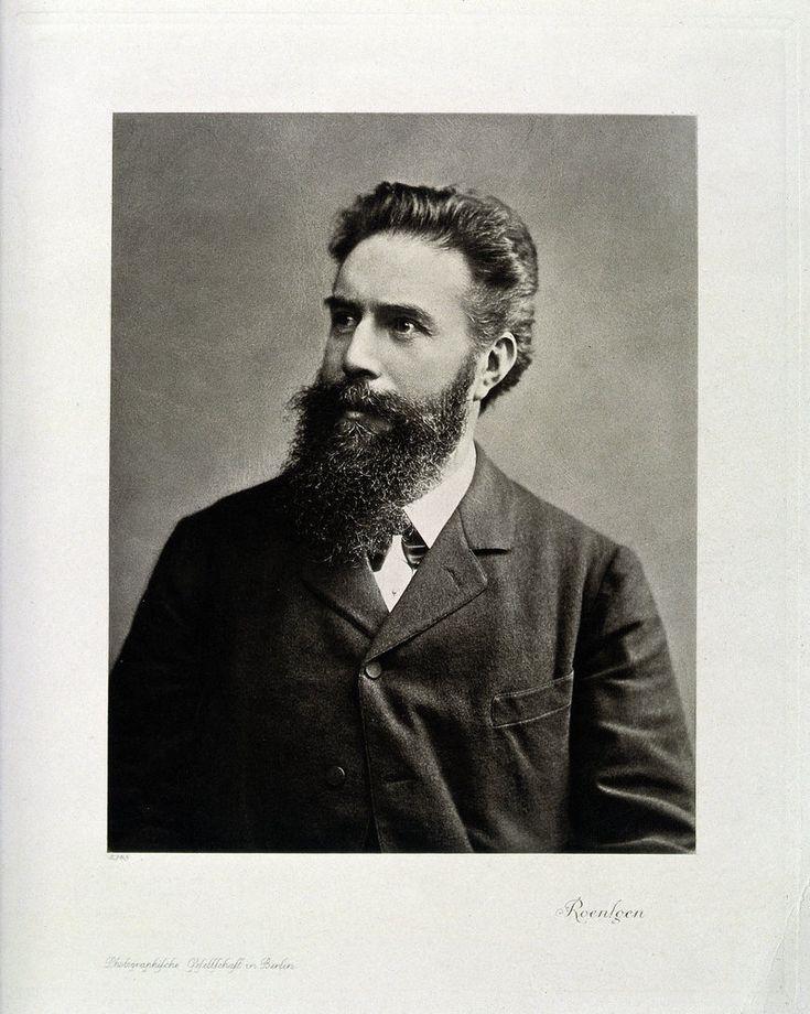 An undated photogravure of Wilhelm Conrad Roentgen.
