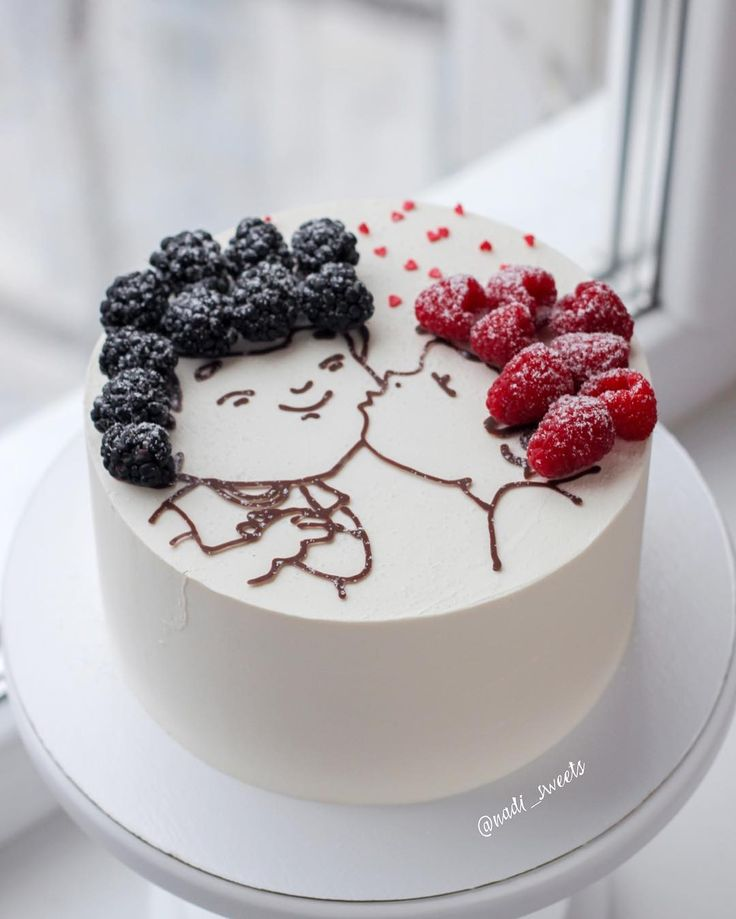 Unusual Love Cake..