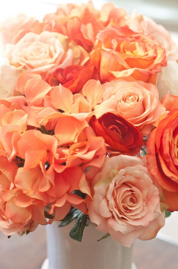 Coral Flower Centerpieces | Coral Flowers