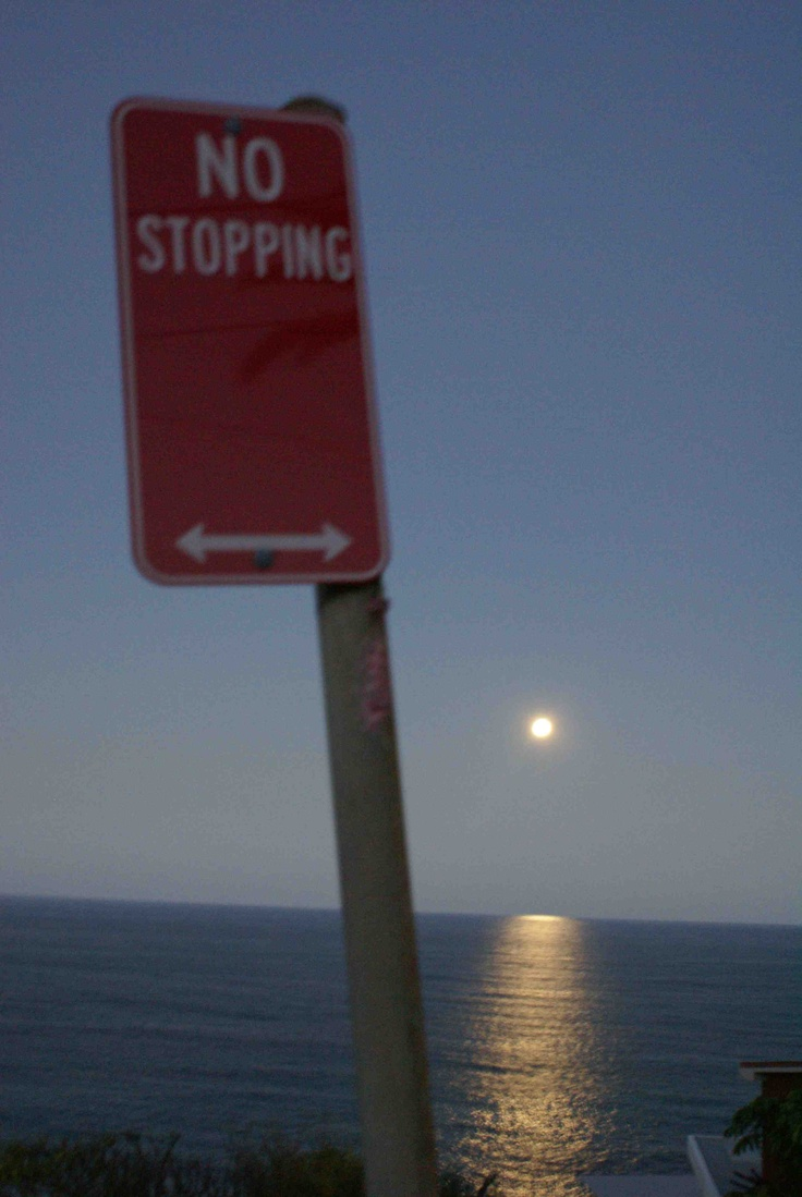 no stopping the moon