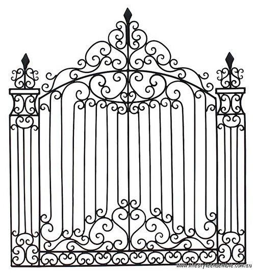 Garden Gate Wall Decor 195 best garden gate images on pinterest | gate design, gate ideas