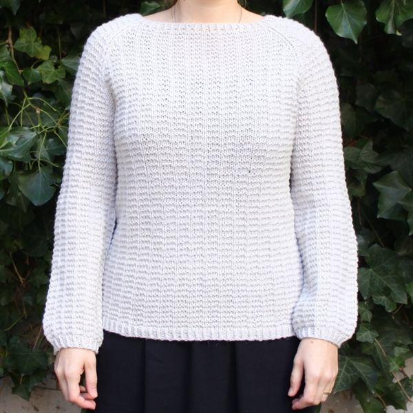 Tusindfryds Waffelsweater Str. XS(S)M(L)XL(XXL)