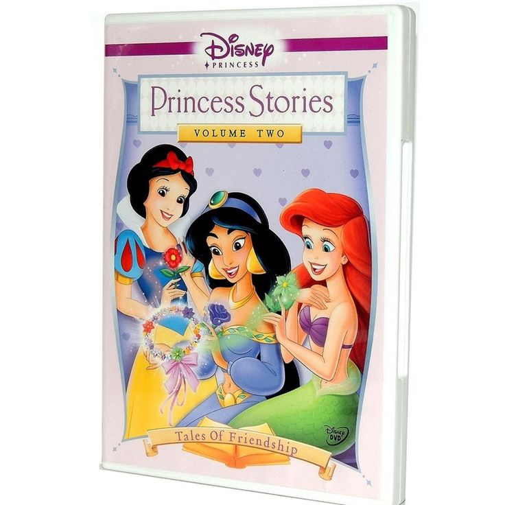 Disney Princess Jasmine Ariel & Snow White Friendship Stories Movie DVD Volume 2 #BuenaVistaHomeEntertainmentDisney