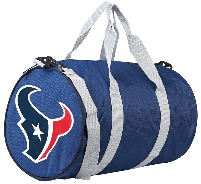 Houston Texans NFL Roar Duffel Bag. Visit SportsFansPlus.com for Details.