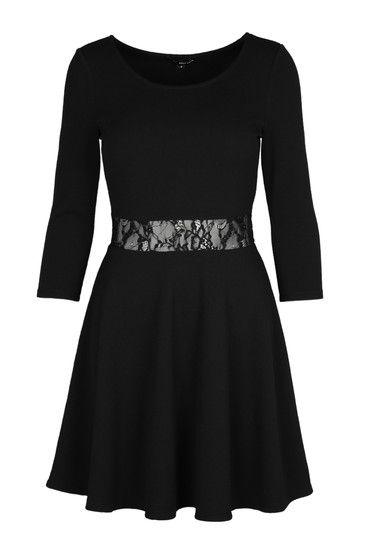 17 best ideas about schwarzes kleid mit spitze on pinterest schwarze. Black Bedroom Furniture Sets. Home Design Ideas