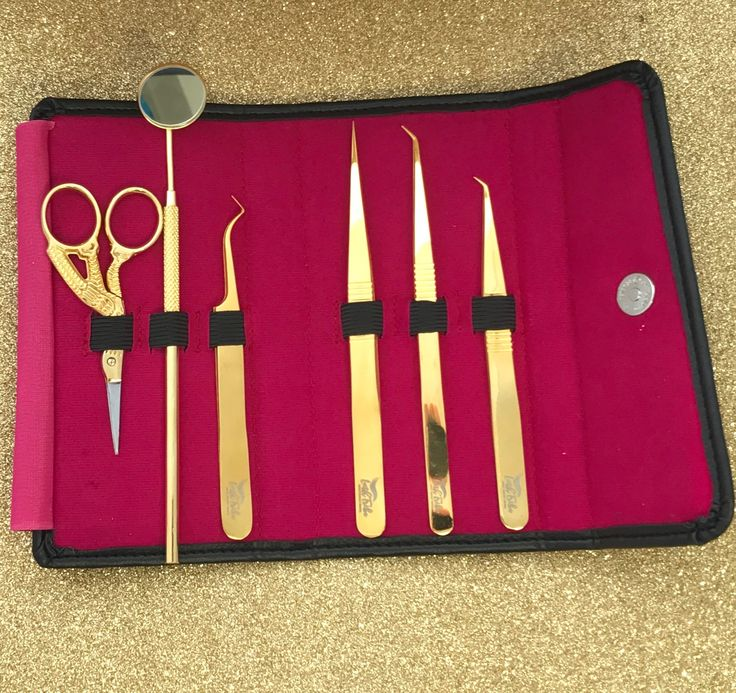 This set includes all my fave short tip tweezers + my custom designed Z-tweezers in a gorgeous Tweezer Case/Pouch. Buying this set instead of all single Products will SAVE you $41. Explore Eyelash Extensions Supplies + Products at http://lashtribe.com.au/shop/tweezers/perfect-short-tip-tweezer-set/  | Eyelash Extensions Business + Marketing Tips | Lash Tribe Australia