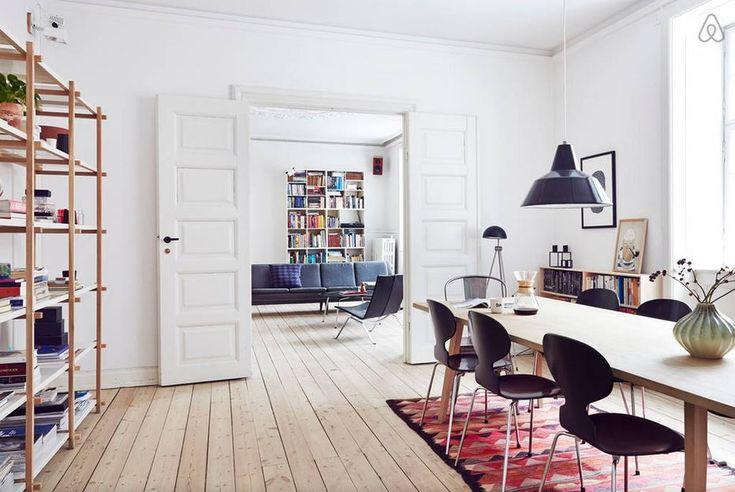 Airbnb apartment in Copenhagen