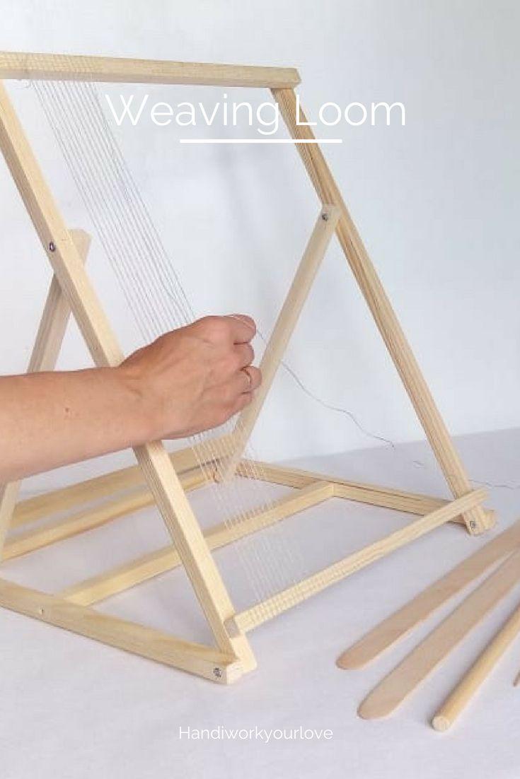 Weaving Loom Kit Adjustable Loom For Tapestry Weaving Kit Frame ...