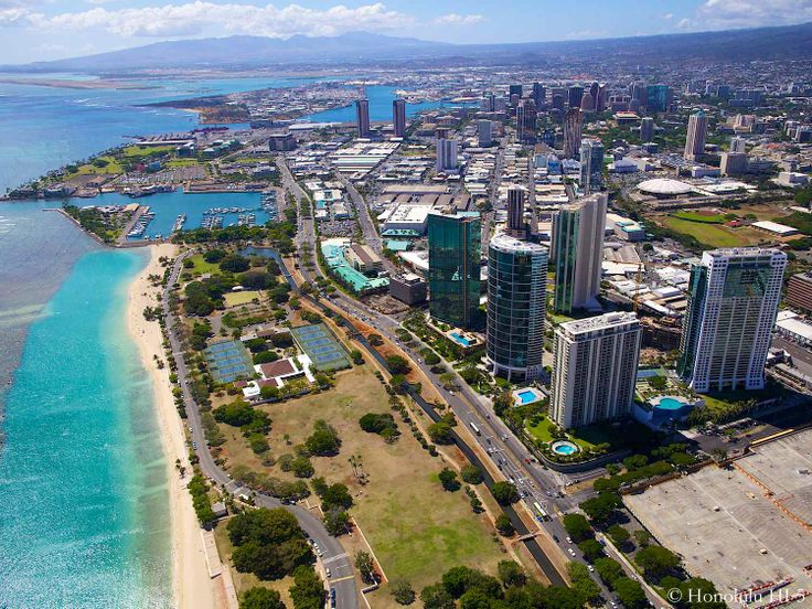 Best Honolulu Hawaii Aerial Images On Pinterest Honolulu - Best aerial maps