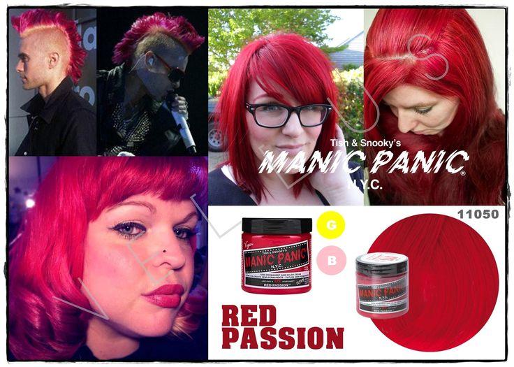 Manic Panic Classic Red Passion  Vellus Hair Studio 83A Tanjong Pagar Road S(088504) Tel: 62246566