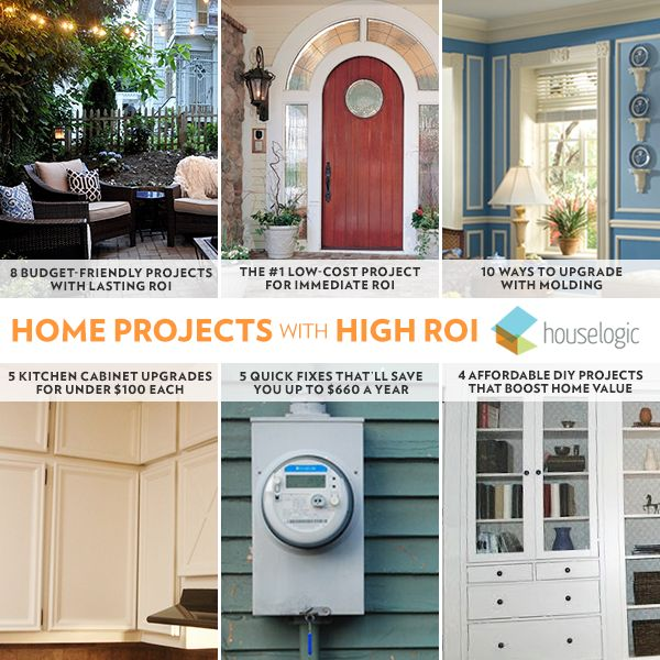 160 best Best ROI Home Projects images on Pinterest | Gift ...