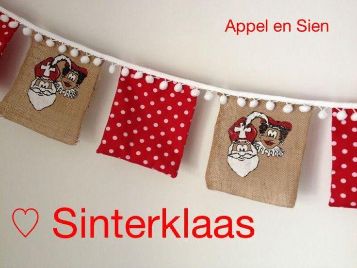 Vlaggetjes voor de Sint www.facebook.com/appelensien