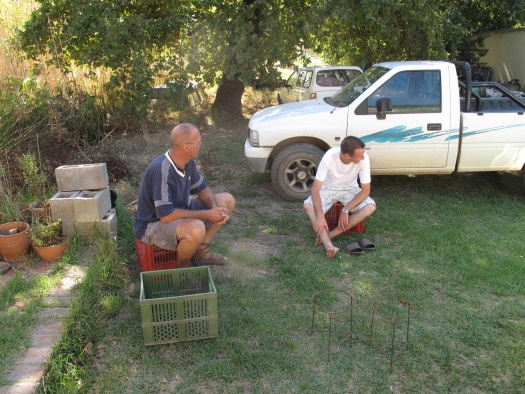 Talking pots on a farm - is there anything better?