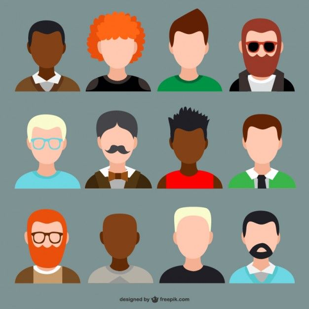 Character Design Icon : Material design characters google search avatar people