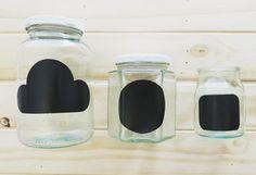 Faça você mesmo: etiquetas de lousa para potes de vidro | Blog do Elo7