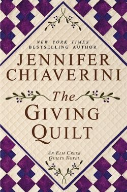 The Giving Quilt by Jennifer Chiaverini ... We are super excited about The Giving Quilt fabric coming to The Quilt Corner in May 2013.  GORGEOUS!  And of course, the book is excellent!