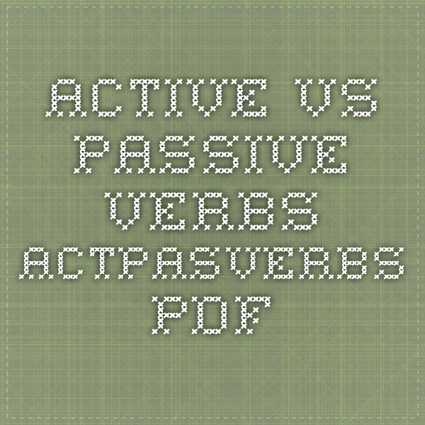 an active student vs passive student essay Active vs passive voice for the writing sample  if the essay is written by you in a voice  by active vs passive do you mean neutral vs opinionated in.