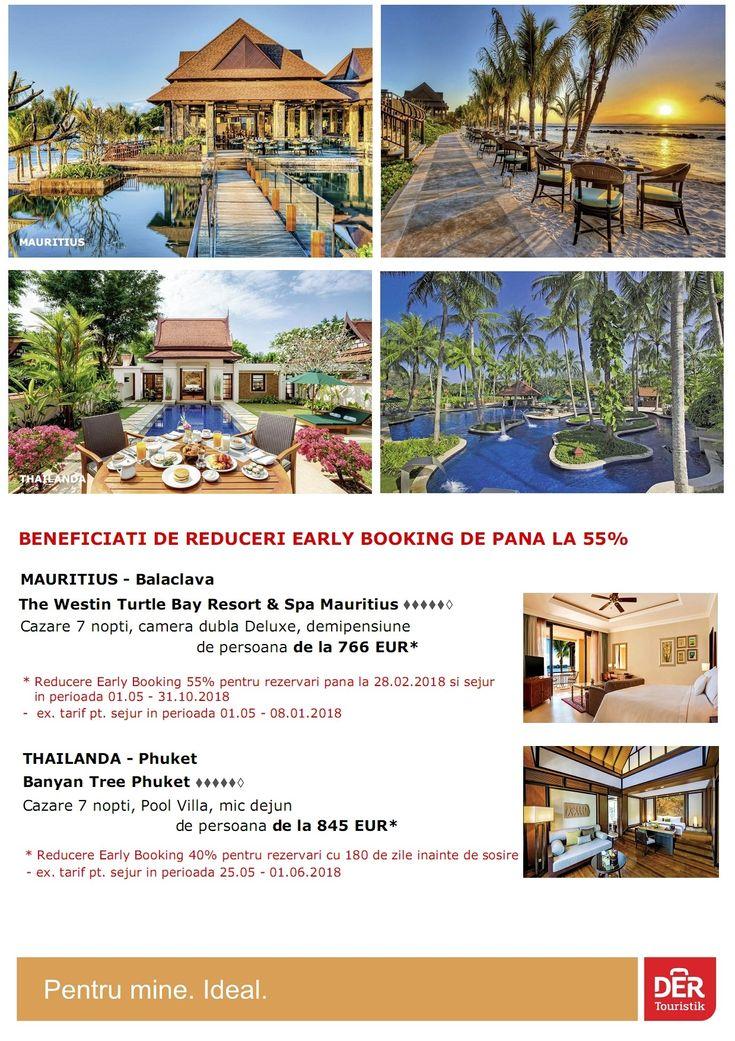 Beneficiati de reduceri early booking de pana la 55% - Mauritius http://www.mara-boutique.ro/