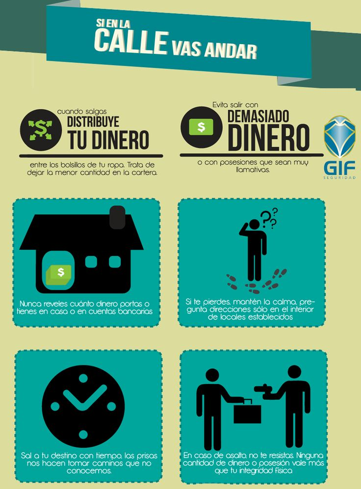 Tips de Seguridad #calle