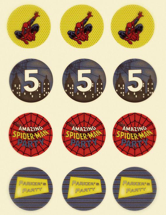 vintage spiderman birthday