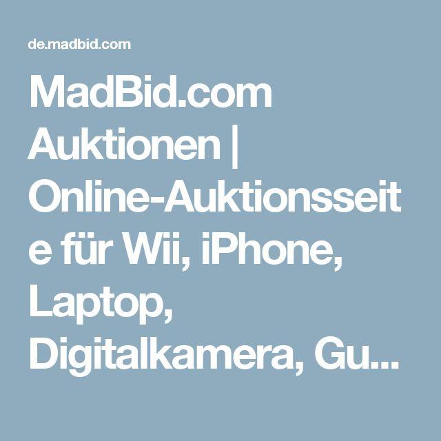 MadBid.com Auktionen | Online-Auktionsseite für Wii, iPhone, Laptop, Digitalkamera, Gutscheine, LCD-Fernseher, Parfum, Auto, Netbook, Handy, MP3-Player, pay-to-bid