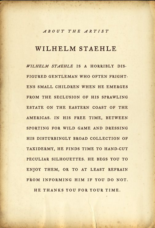 Wilhelm Staehle's About the Author