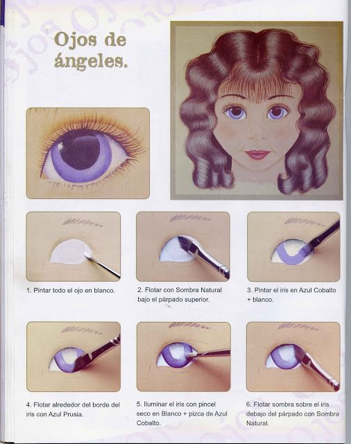 Ojos pintados a mano on Pinterest | Lap Quilts, Search and Gold Eyes