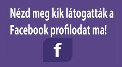 Nagyon sok ember kíváncsi rá kik látogatták meg a facebokk oldalukat,rengeteg alkalmazás található a neten ezzel a témával kapcsolatban,ezek az...