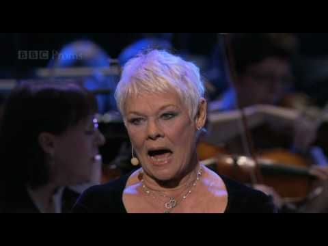"Dame Judi Dench sings ""Send in the Clowns"" - BBC Proms 2010  I love this song, Cheryl Pearson"
