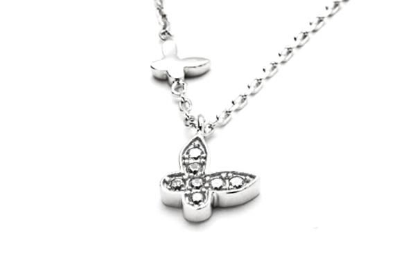 Dainty Butterfly Necklace from the Dainties Colection  http://www.sterns.co.za