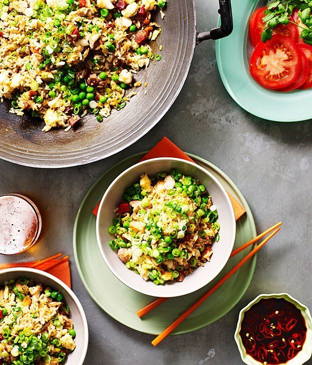 Yangzhou fried rice recipe - Gourmet Traveller