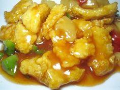 Recette de cuisine de l'ile Maurice, cuisine mauricienne de tous les jours: Poisson aigre-doux