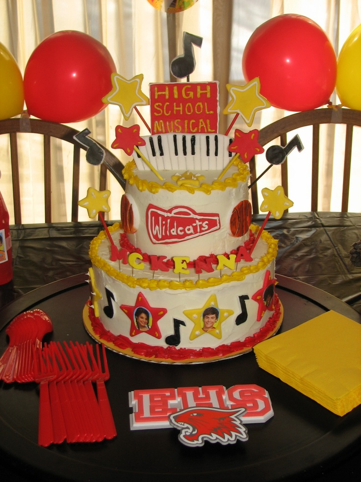 Mummy I Want A High School Musical Cake For My Berfday