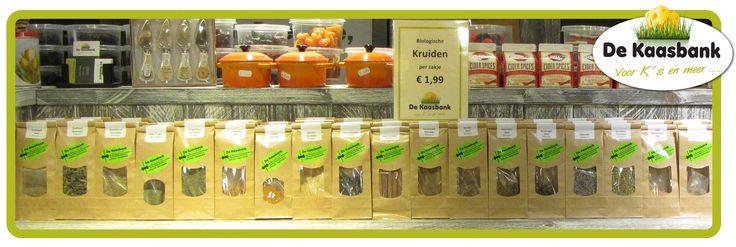 Biologische kruiden bij de Kaasbank in Borger en Emmen