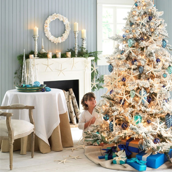 Beach Christmas Tree Topper: 53 Best Images About Coastal Christmas On Pinterest