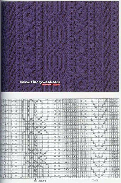 20 mejores imágenes de Knitting en Pinterest | Dos agujas, Puntadas ...