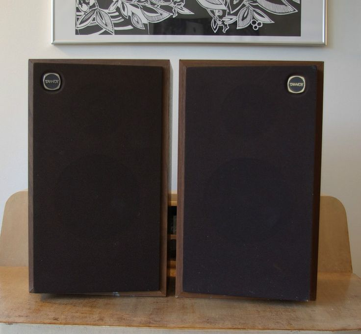 Tannoy Titan Vintage 1980's Hifi Speakers RARE British Monitors Planet Series in Sound & Vision, Home Audio & HiFi Separates, Speakers & Subwoofers | eBay