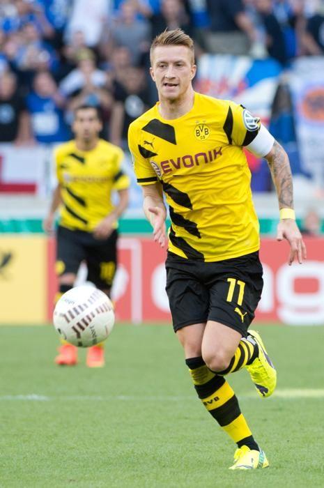 L'équipe type des oubliés du Ballon d'Or 2014 Milieu Marco Reus (Allemagne / Dortmund)