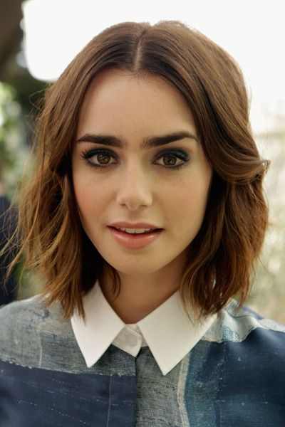 perfect smoky eye on lilly collins // #beauty #beautylooks #smokyeye